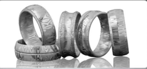 Damuscus mens rings Molly's jewelry design and repair